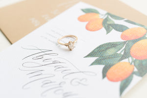Wedding Chicks: Whimsical Citrus Inspired Shoot On The First Day Of Spring