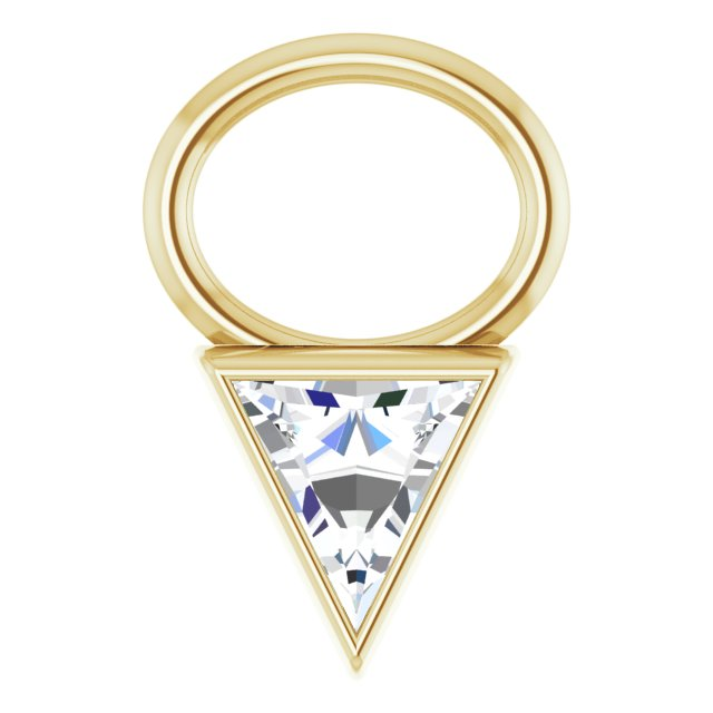 Diamond Hoop Charms