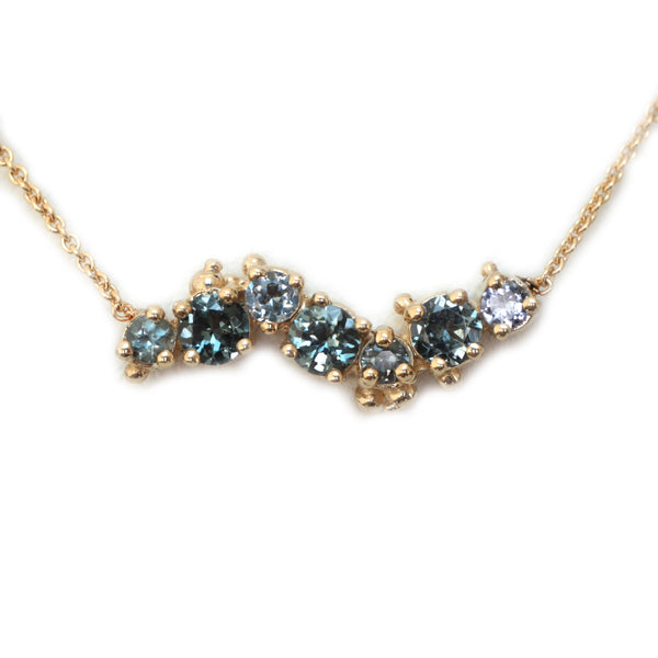 Spinel Wave Necklace