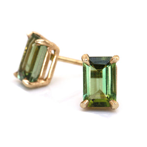 Forest Tourmaline Earrings