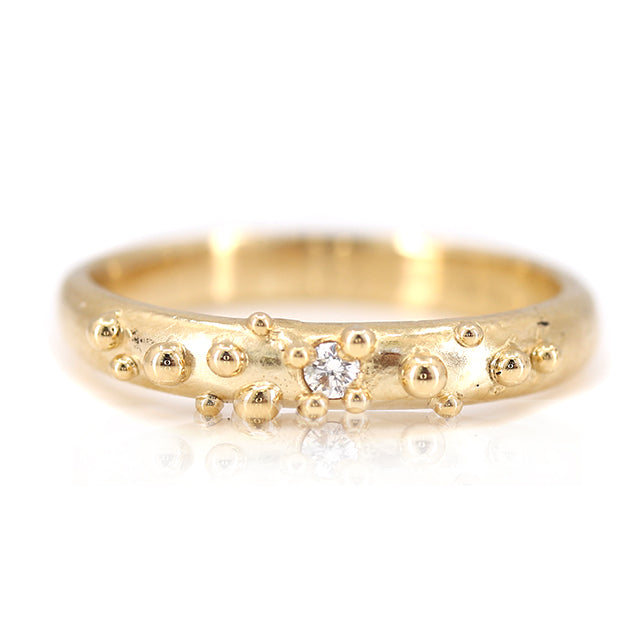 Gold and Diamond Baleal Ring