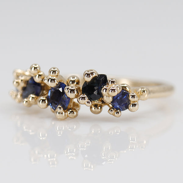 Blue Sapphire Areia Ring