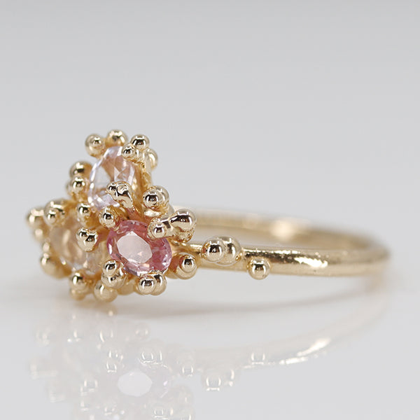 Pink Sapphire Areia Ring