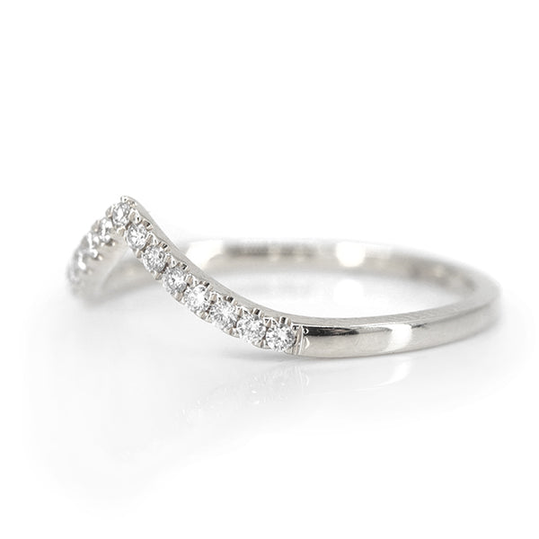 Eleanor Diamond Peak Ring