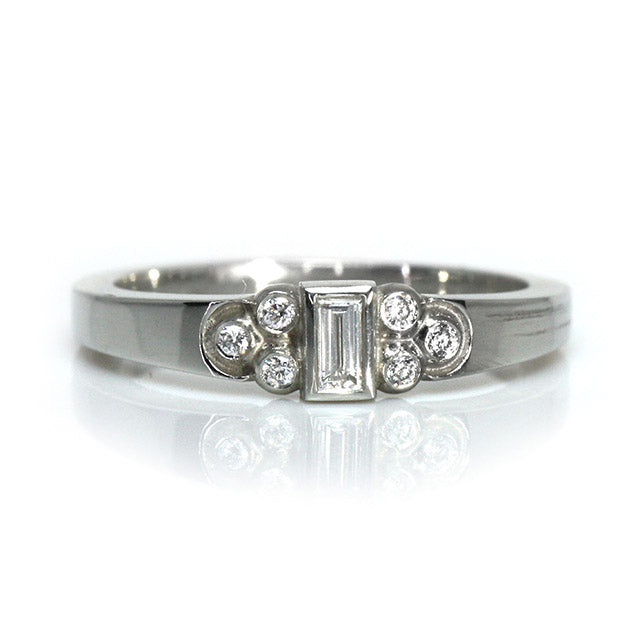 Baguette Diamond Mona Ring