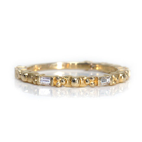 Baguette Diamond 3/4 Eternity Ring