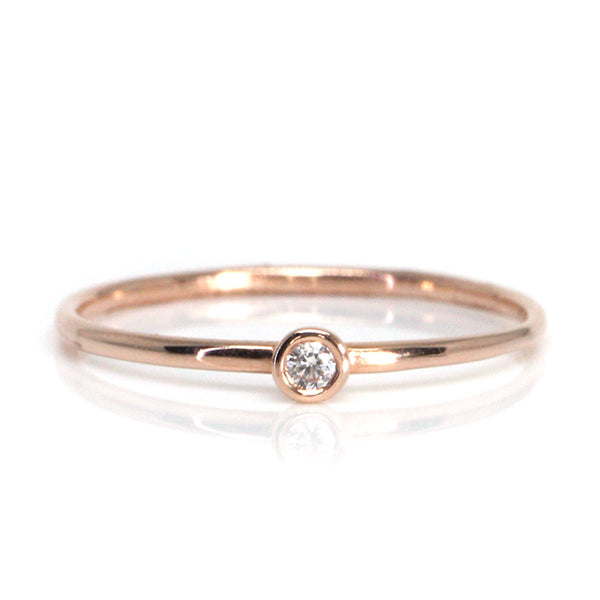 Mini Diamond Stack Ring