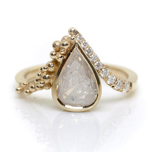 Inês Milky Diamond Ring