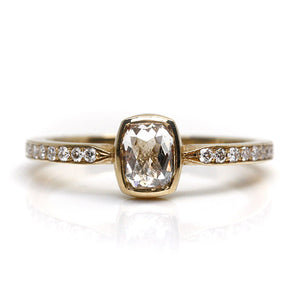 Canadian Rose Cut Diamond Ring
