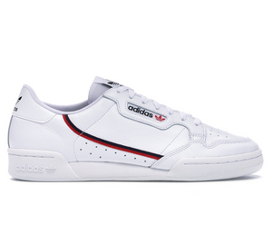 Adidas Continental 80 Unisex (White/Scarlet)
