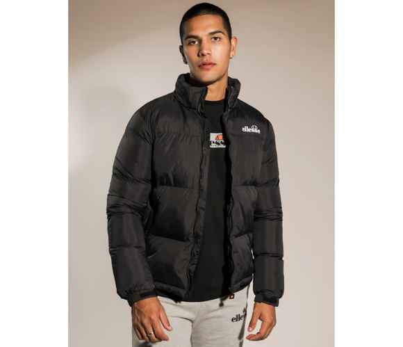 Ellesse Men's Finna Padded Jacket (Black)