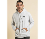 Henleys Dunstall Hooded Sweater Mens (Snow Marle)