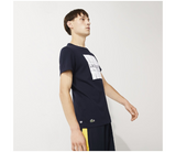 LACOSTE LOGO T-SHIRT NAVY BLUE/WHITE TH2068BPC