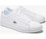 LACOSTE MENS CARNABY EVO 0120 1 SMA WHT/GOLD
