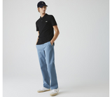 LACOSTE SLIM FIT POLO MENS (BLACK)