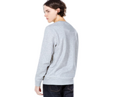 LACOSTE SPORT FLEECE CREW NECK SWEATSHIRT (Grey/Silver Chine)