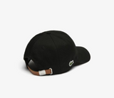 Lacoste Cap (Black/Brown Strap)