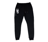 UNDRGROUND Tapered Trackies (Black)
