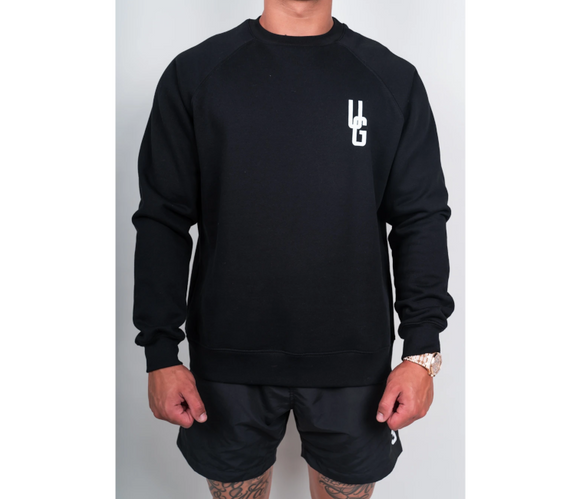 UNDRGROUND Logo Crew Neck (Black)