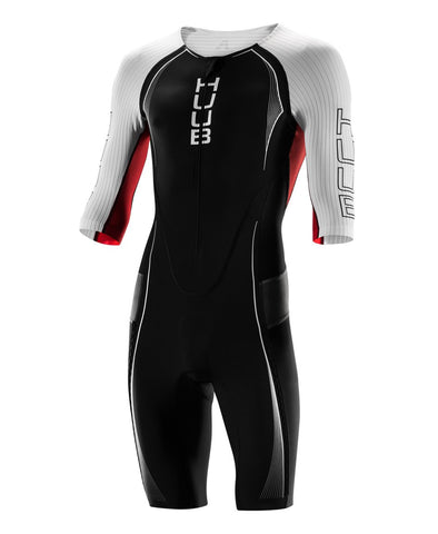 HUUB Anemoi Aero Triathlon Suit - Black/White