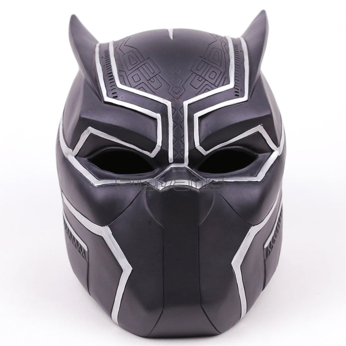 Marvel Super Hero Black Panther Adult Helmet Halloween Party Cosplay Mask PVC Figure Toy 1:1