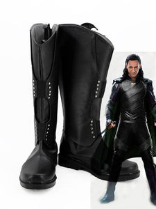 Cosplay Thor 3 The Avengers Ragnarok Loki Laufeyson Tom Sakaar Cosplay Costumes Shoes Boots