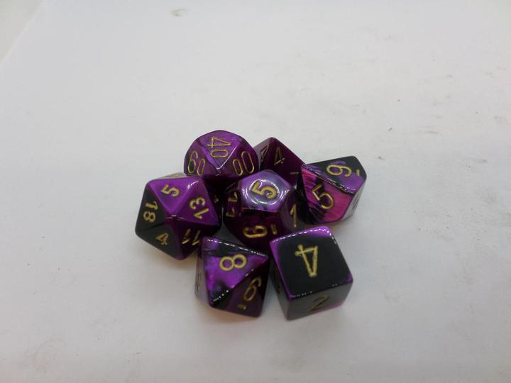 Gemini Black-Purple/gold