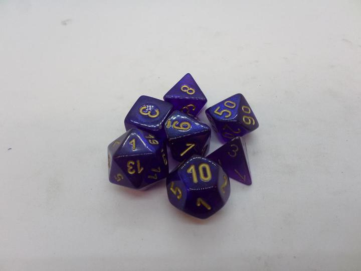 Borealis Royal Purple/gold
