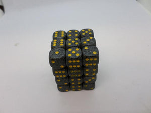 36 x d6 Speckled Urban Camo