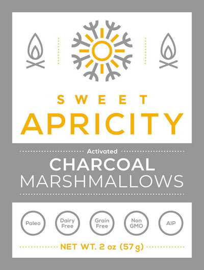 Grass Fed Gelatin Activated Charcoal Marshmallows (AIP)