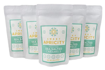 5 pack - 5 pc SEA SALTED CARAMELS (AIP/Paleo)