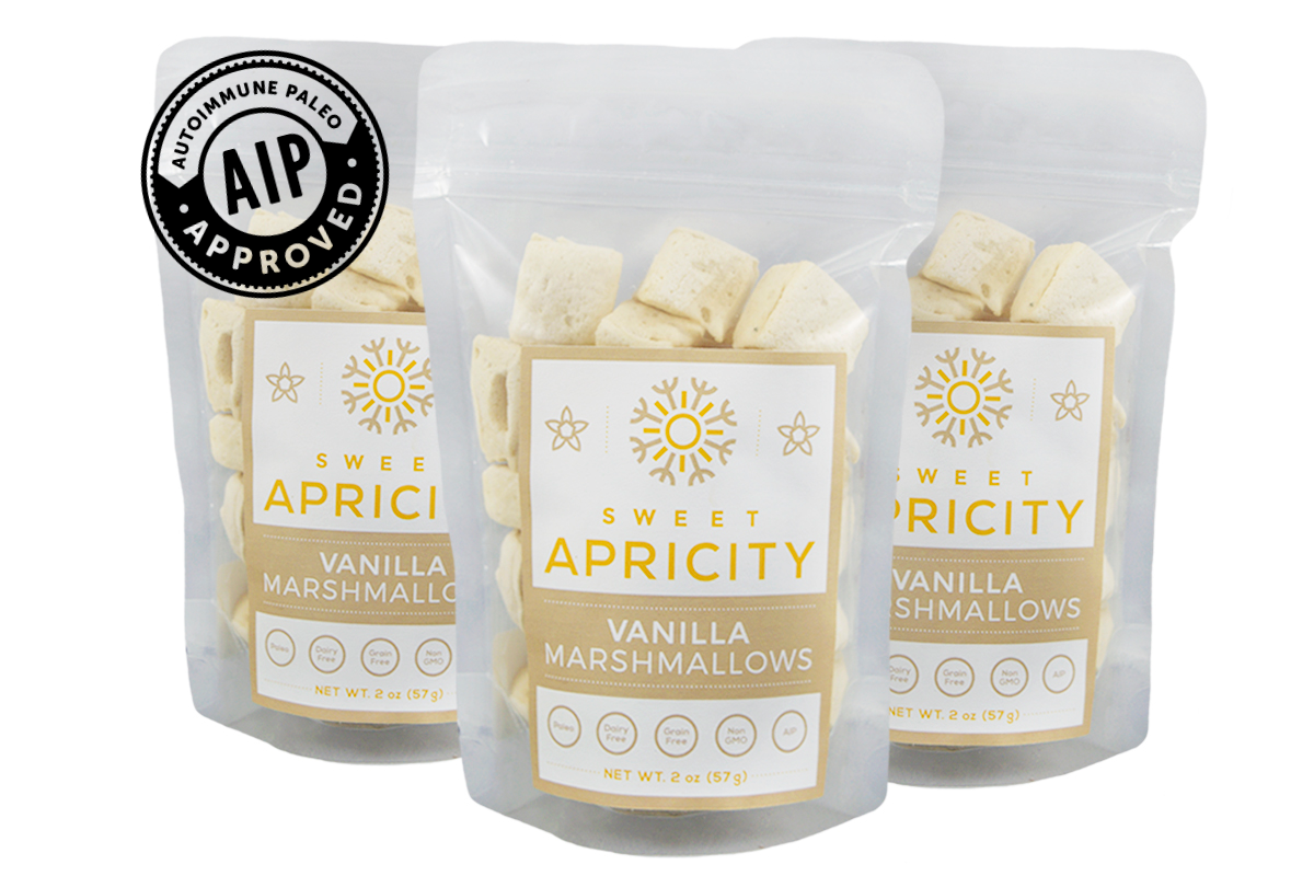Grass Fed Gelatin Vanilla Marshmallows (AIP/Paleo)
