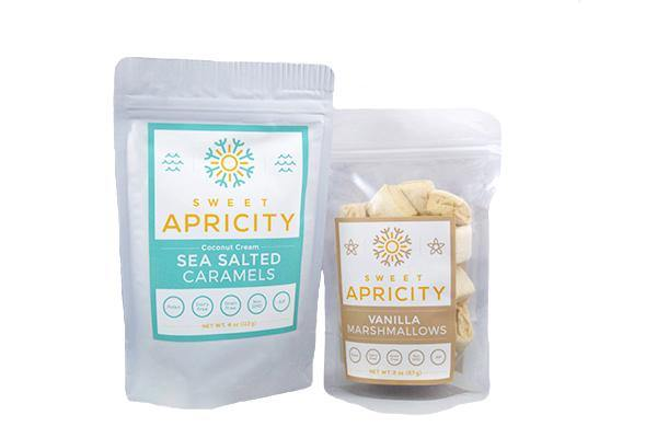 Sea Salted Caramel and Vanilla Marshmallow Combo Pack