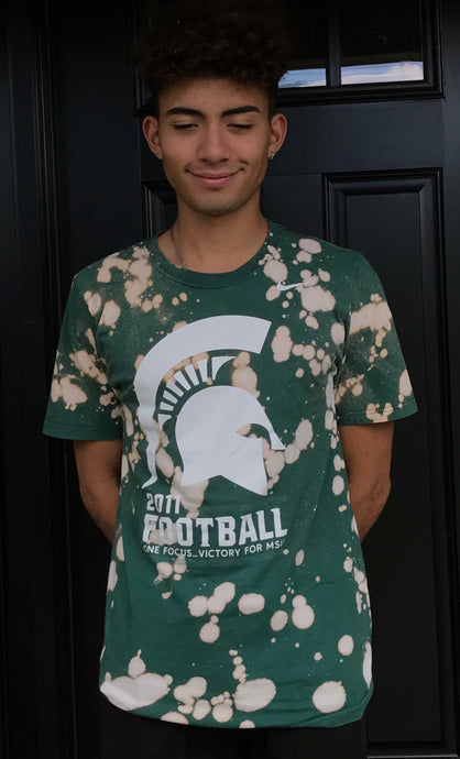 Michigan State Football Tee