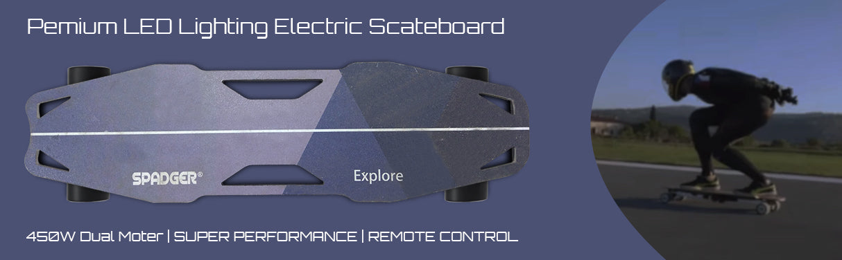 new electric skateboard