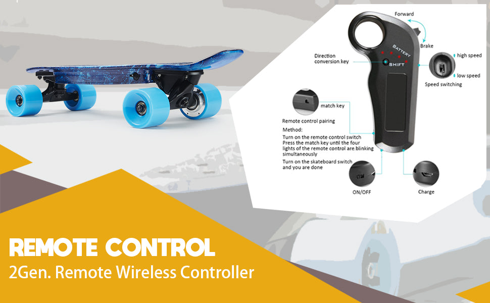 electric skateboard controller