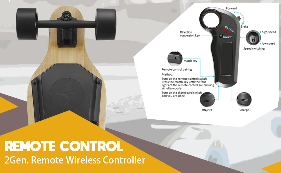 electric skateboard remote controller