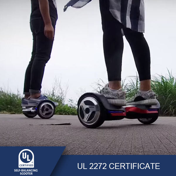 hoverboard with bluetooth UL certificate