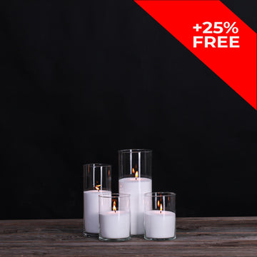 Vogue Candles Set 3 (4 candles)