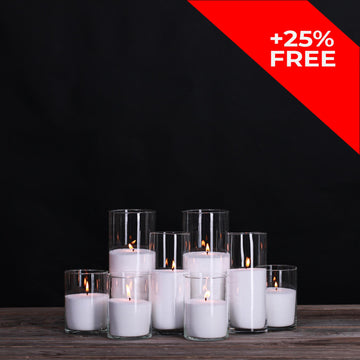 Vogue Candles Set 4 (8 candles)