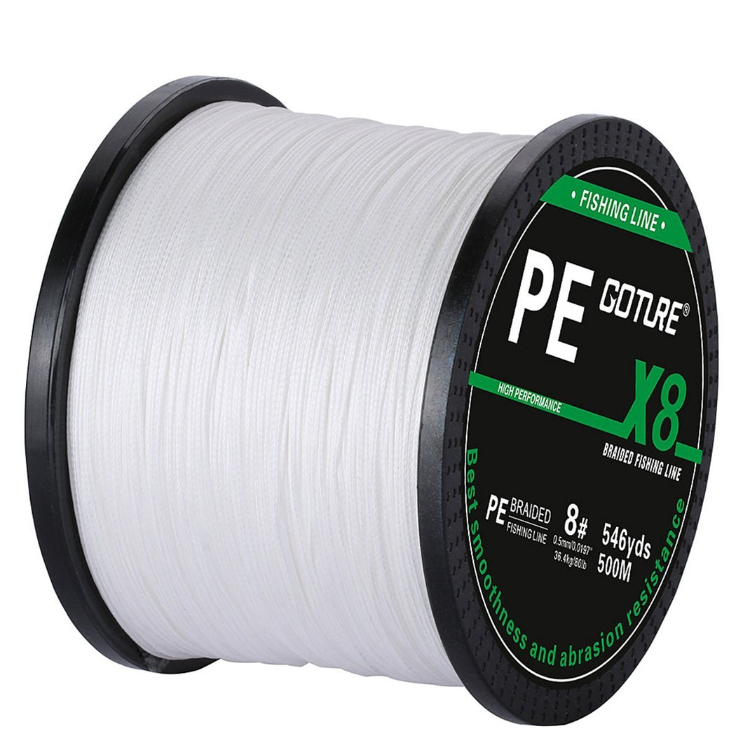 500M 8 Strands PE Braided Line - GOTURE