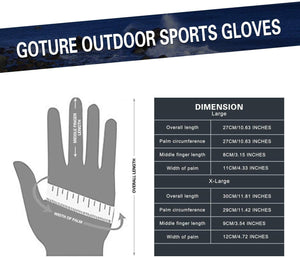 Goture Cycling Gloves Winter Windproof Sports Gloves Motorbike Gloves - GOTURE