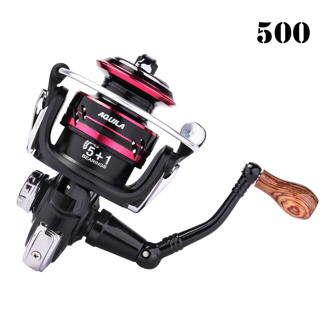 Aquila Spinning Reel, 5+1BB, 5.2:1 - GOTURE
