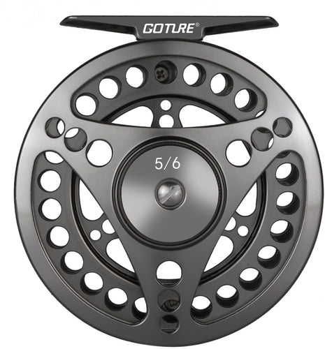 CNC-machined Aluminium Fly Fishing Reel - GOTURE