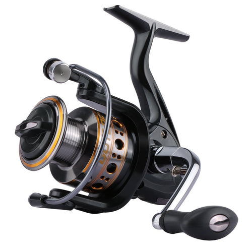 GTV Spinning Reel, Aluminum Spool, 6+1BB - GOTURE