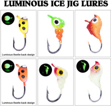 Load image into Gallery viewer, Micro Luminous Ice Fishing Jig Set - GOTURE