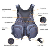Multi-Pocket Fly Fishing Vest Details