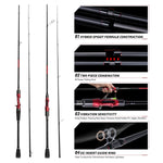 Warrior Casting/Spinning Rod Features