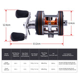 Xceed Trolling Reel Sizes