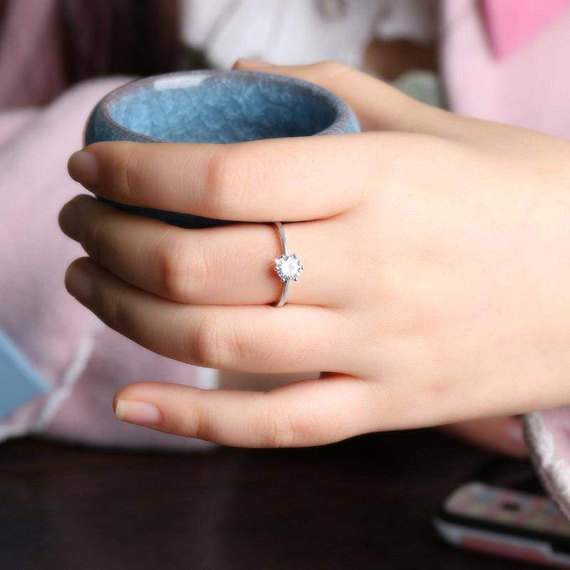 Elegant Sparkly Adjustable Ring